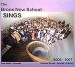 The Bronx New School Sings CD
